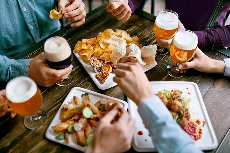 Types of Beer and Food Pairing