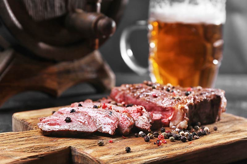 Reasons to drink beer instead of wine with your steak