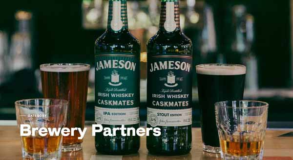 Jameson Irish Whiskey Partners with US Craft Breweries